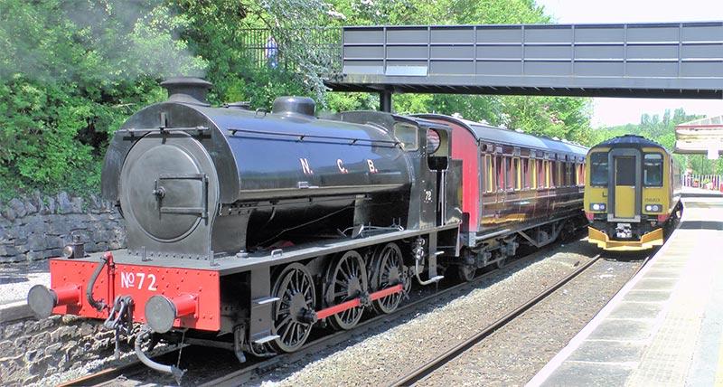 Steam Train at Peak Rail