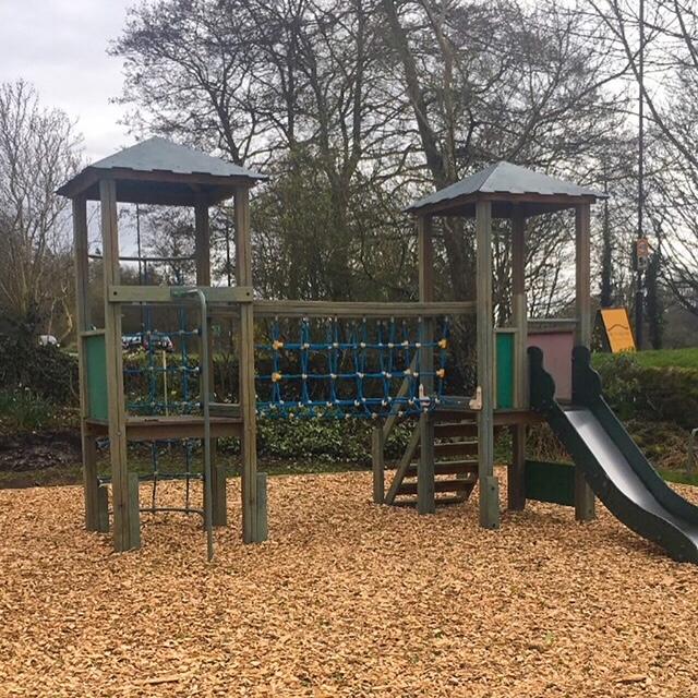 playground at Bridge Inn Curbar