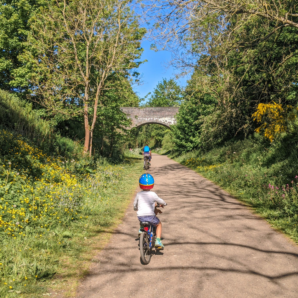 Peak district cycle routes - Monsal Trail