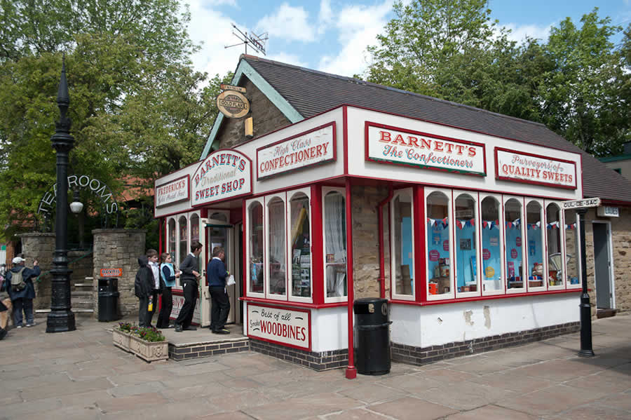 Sweetshop at Crich Tramway Museum