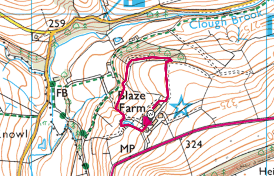 Blaze Farm OS Map