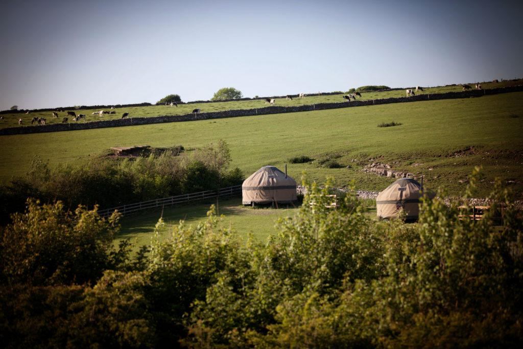 Knotlow Farm yurts