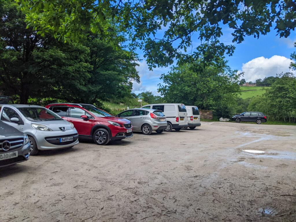 Gradbach car park