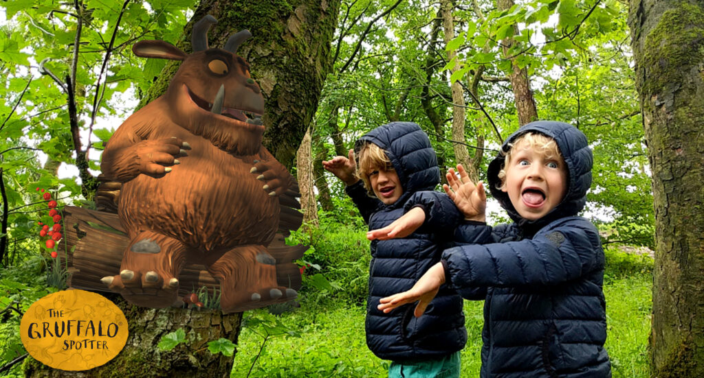 Gruffalo Trail at Solomon's Temple walk