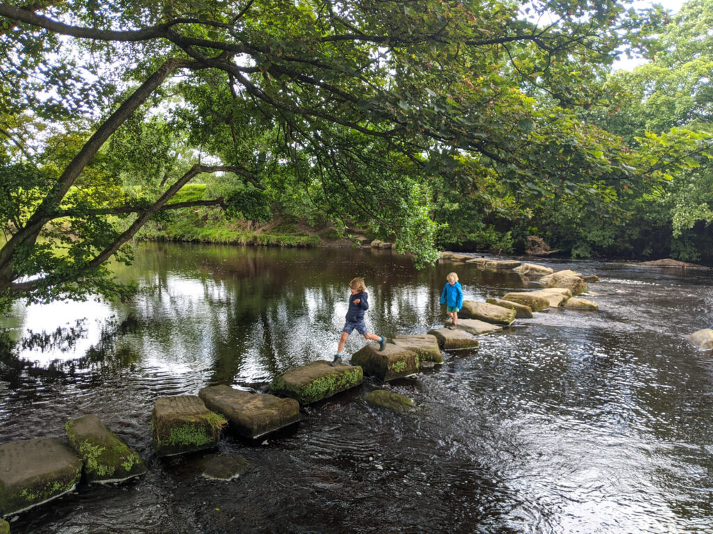 Hathersage stepping stones walk