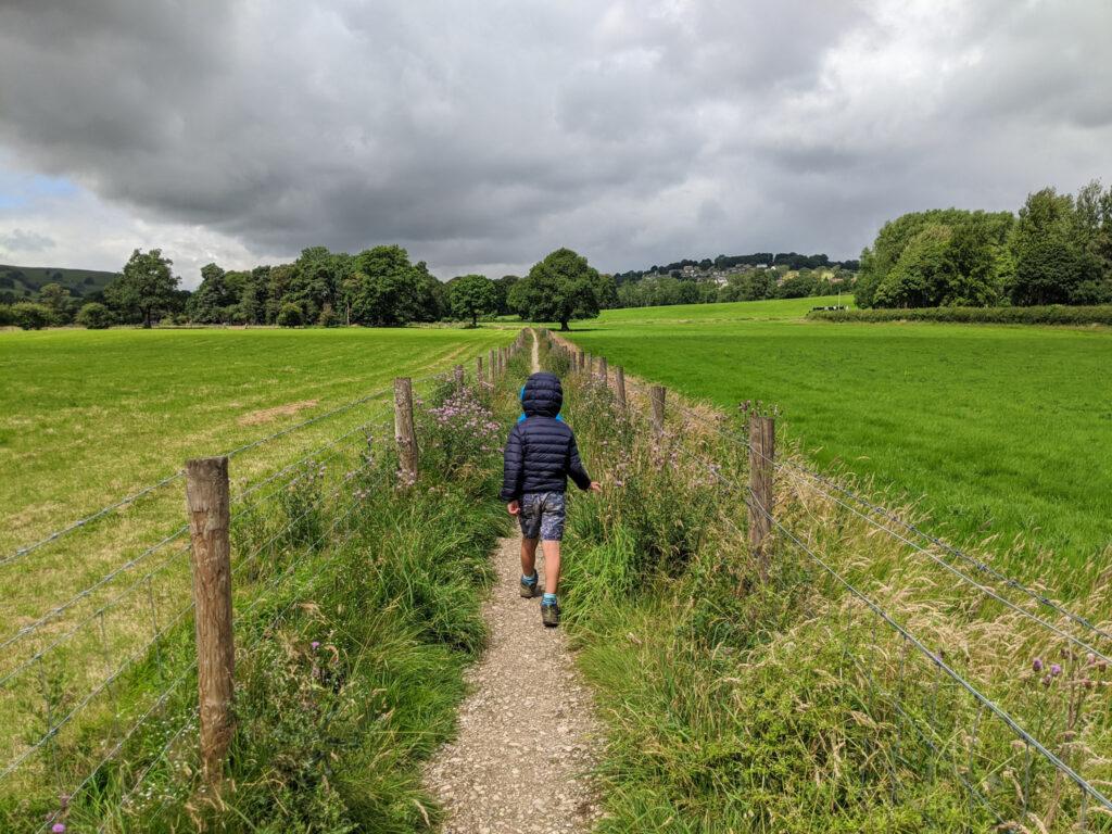 Hathersage stepping stones walk