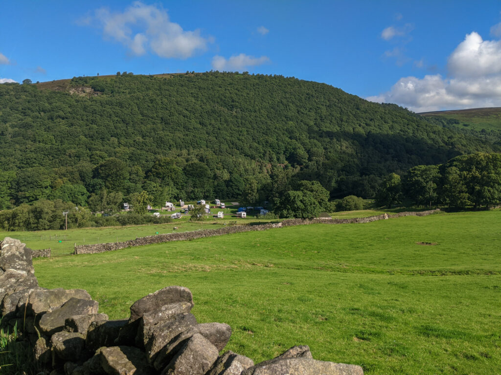 Hayfield Camping and Caravanning site