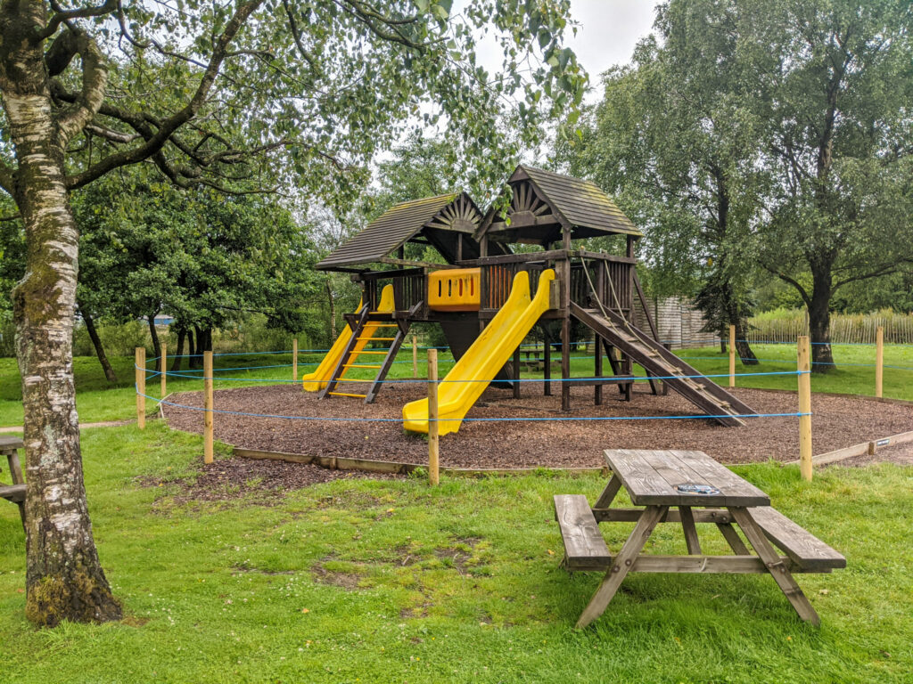 playground at Peak Wildlife Park