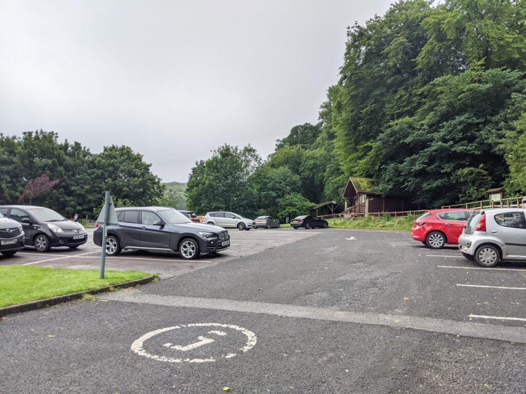 car park for Solomons Temple walk