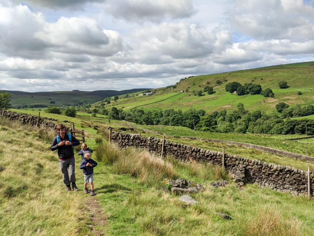 Three Shires Head walk