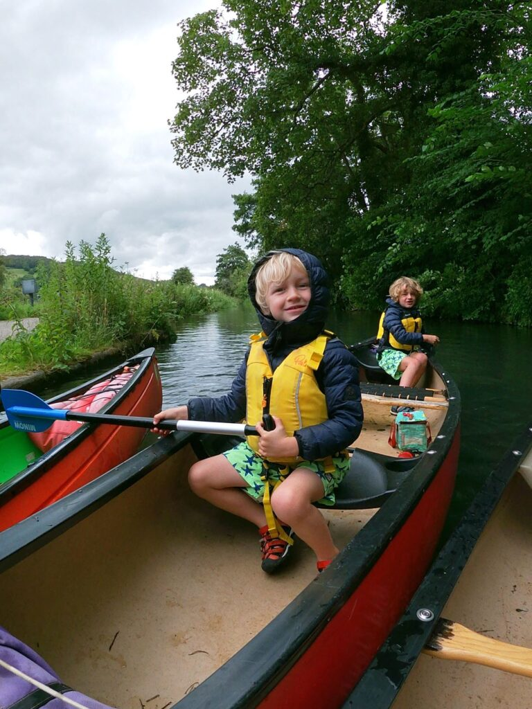 Canoeing in the Peak District with Peaks and Paddles