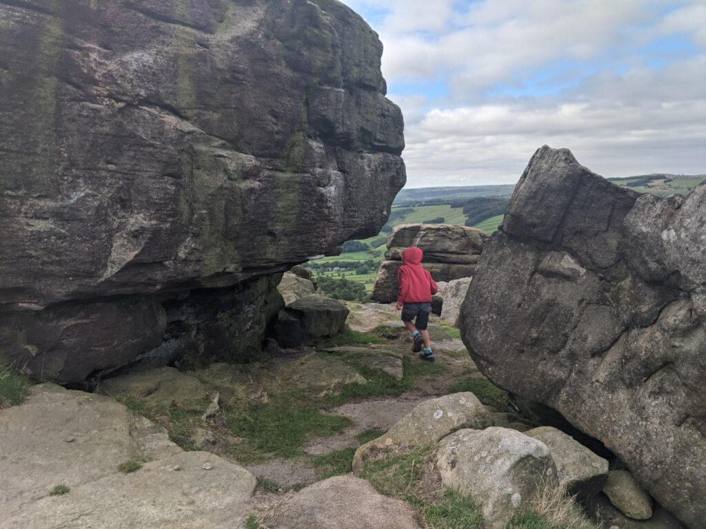 Baslow Edge walk