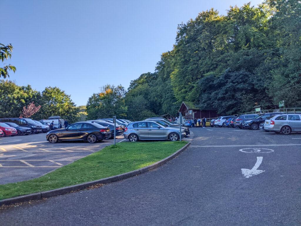 Buxton Counrty Park parking