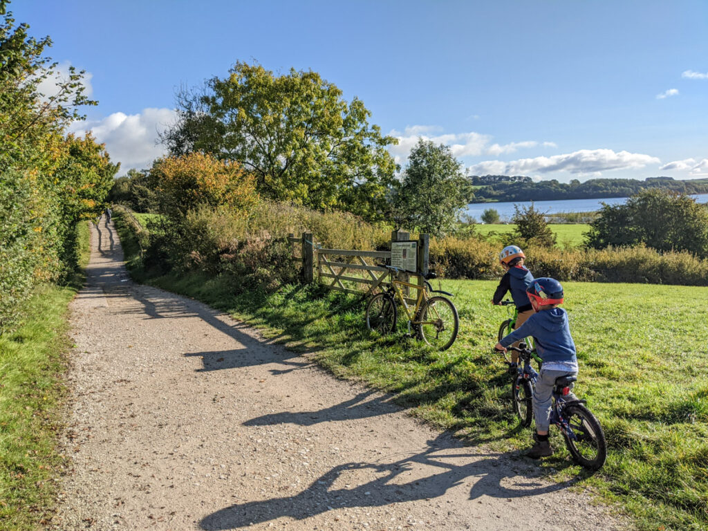 Carsington Water cycle route