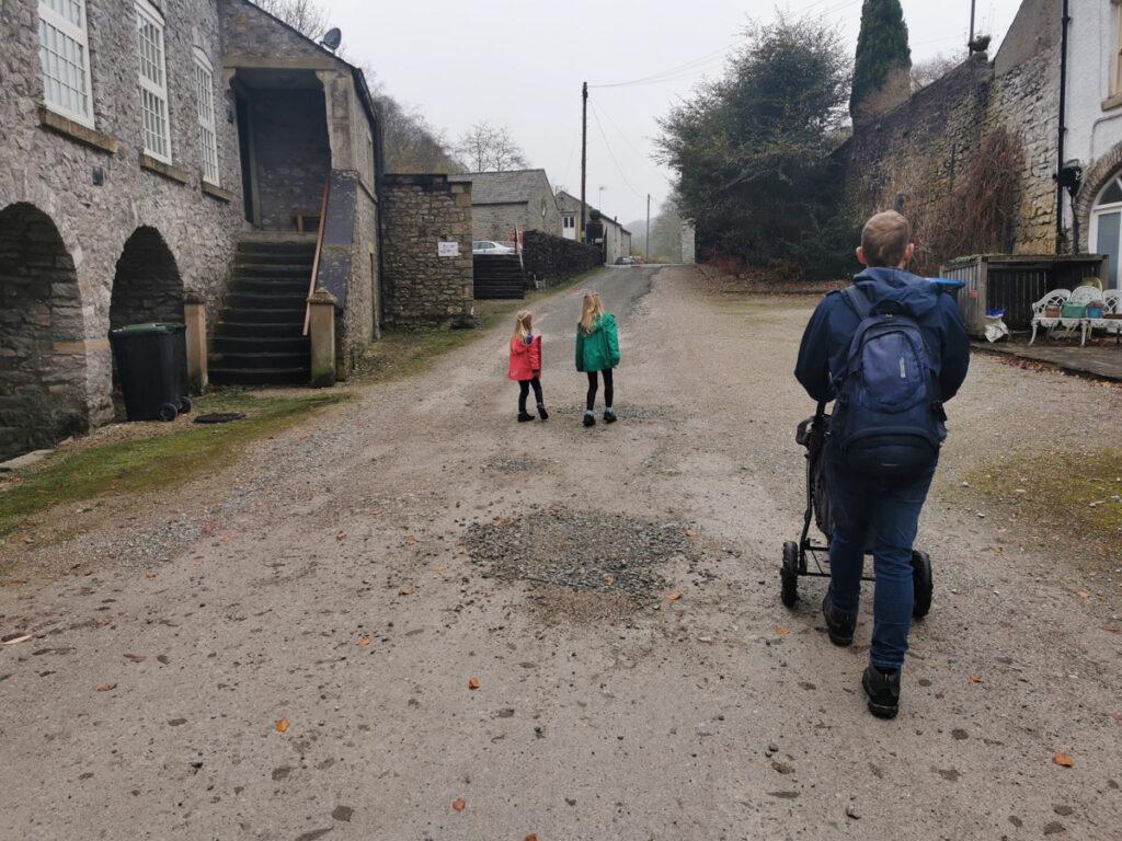 Cressbrook to Litton pram friendly walk