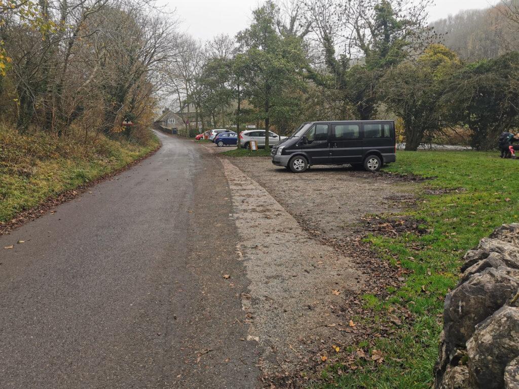 Cressbrook pram walk parking