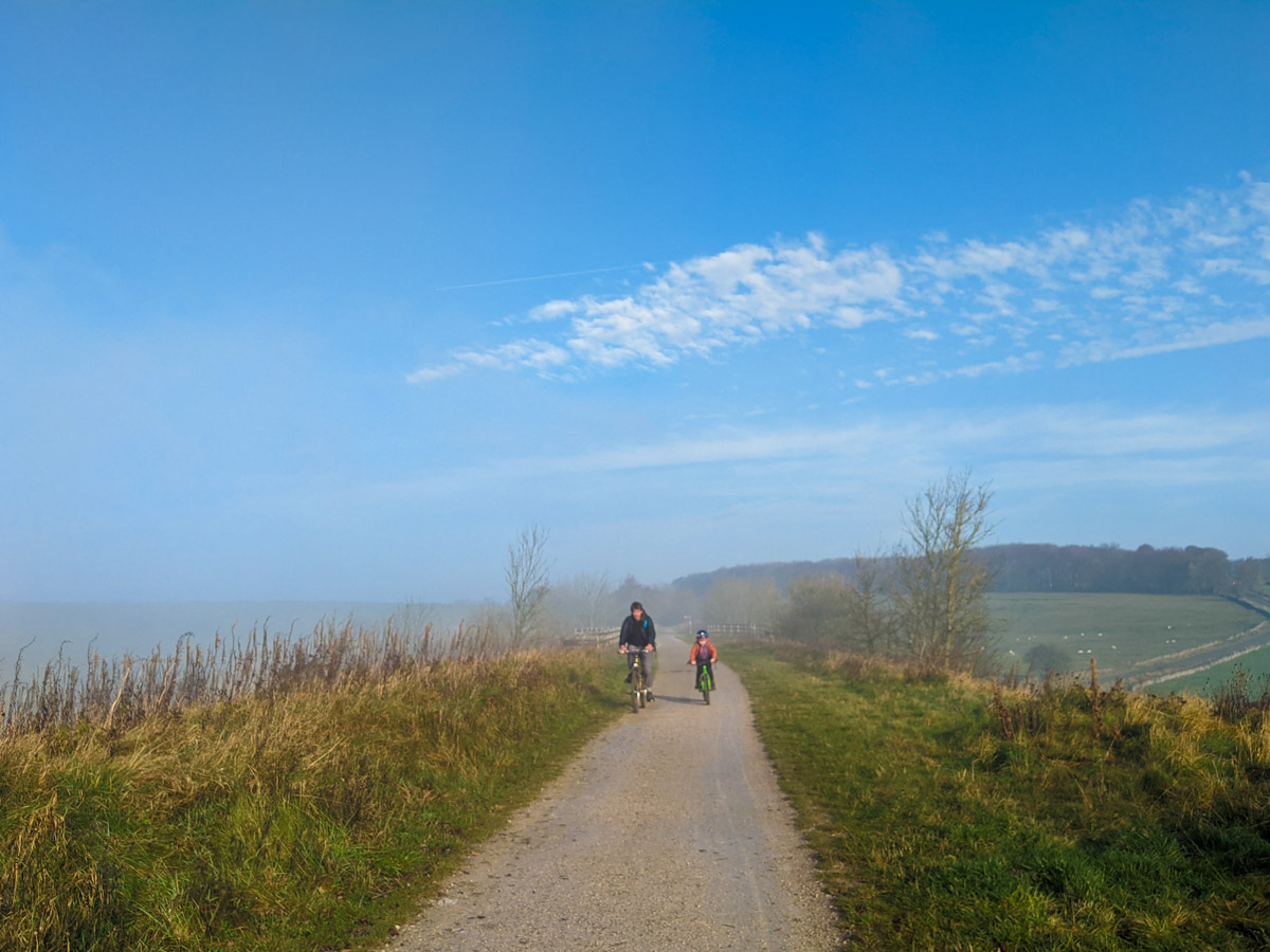 Cycling the High Peak Trail with kids: Hurdlow to Friden