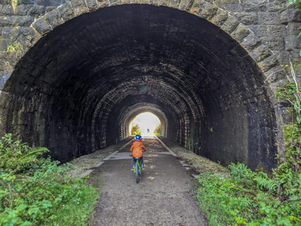 High Peak Trail cycling