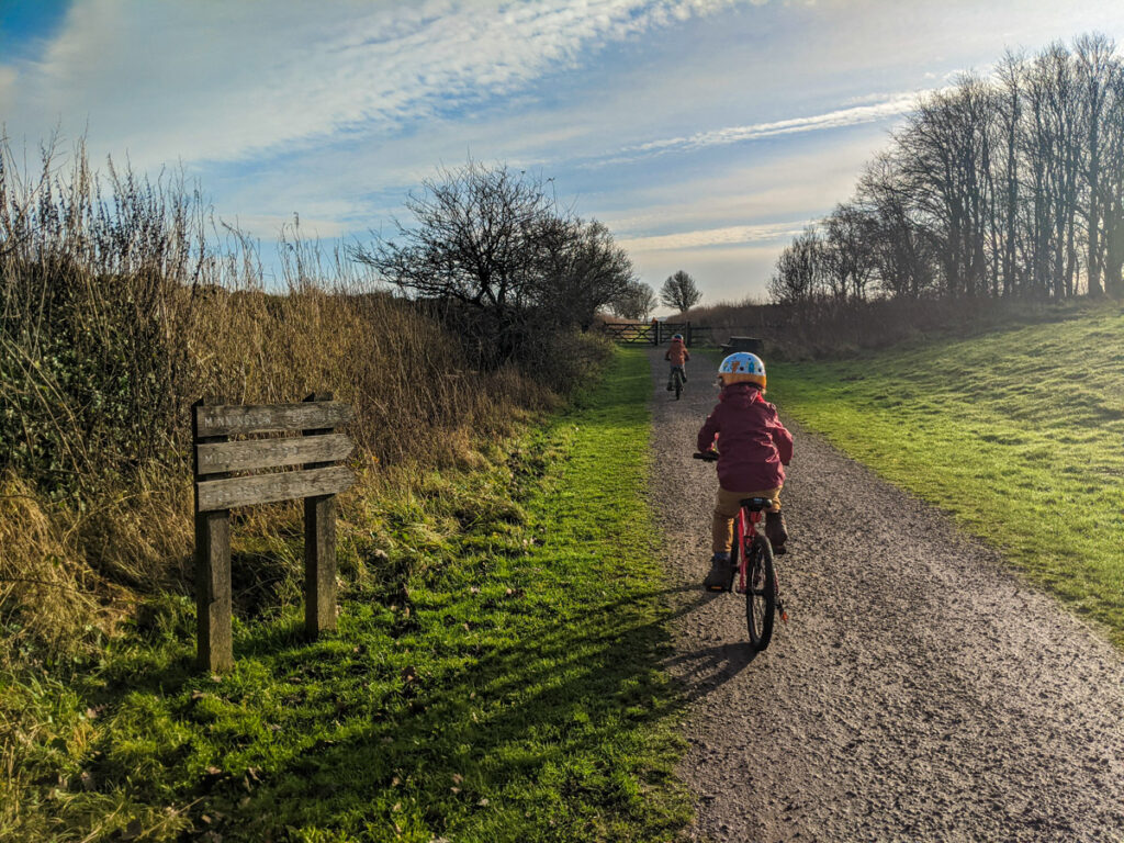 High Peak Trail cycling