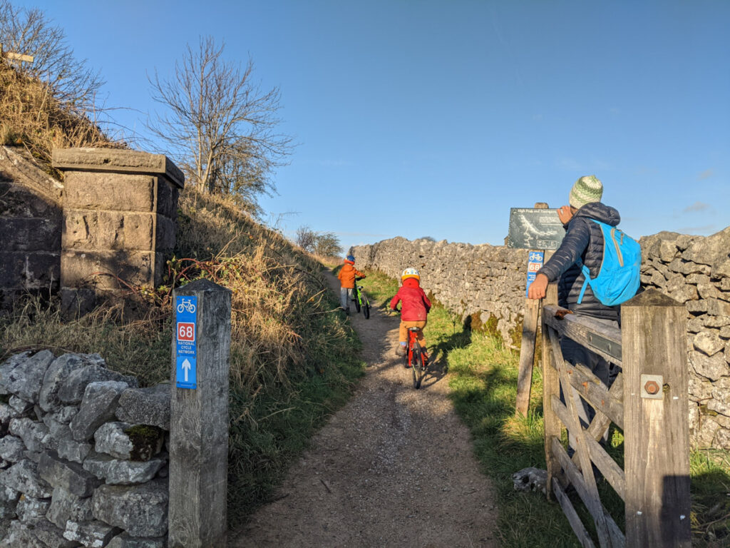 Tissington Trail cycling