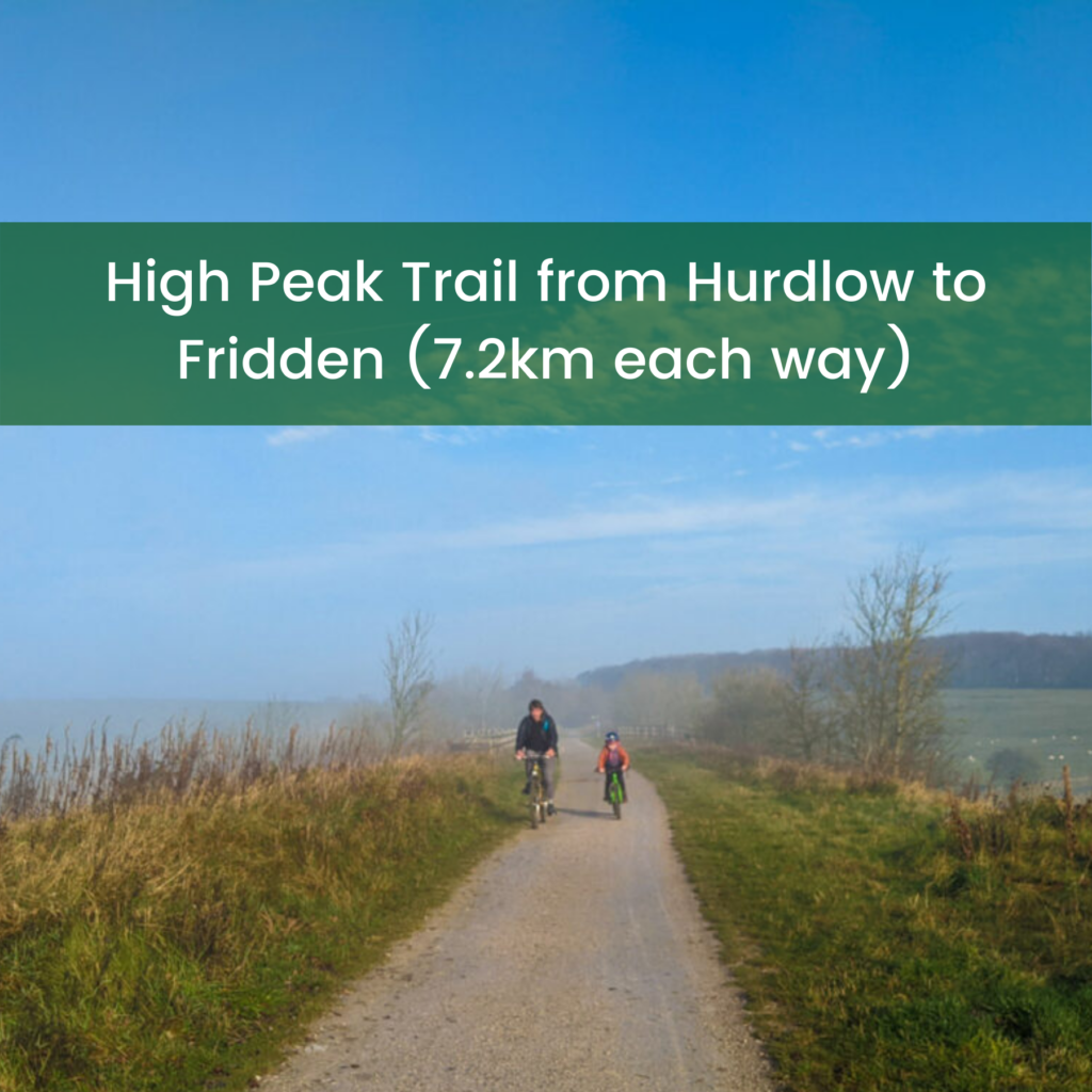 High Peak Trail cycle link