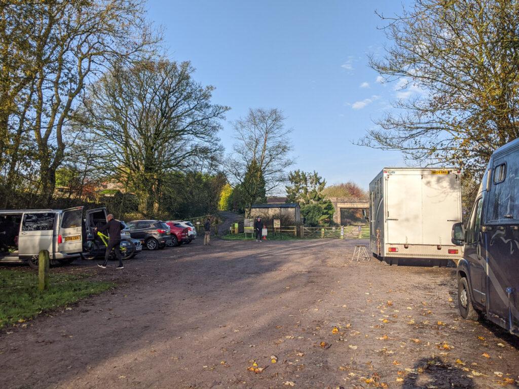 Hurdlow car park