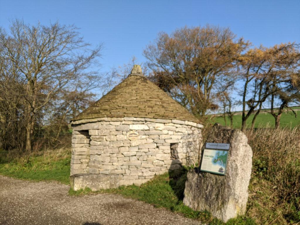 vernacular dry stone building, Parsley Hay