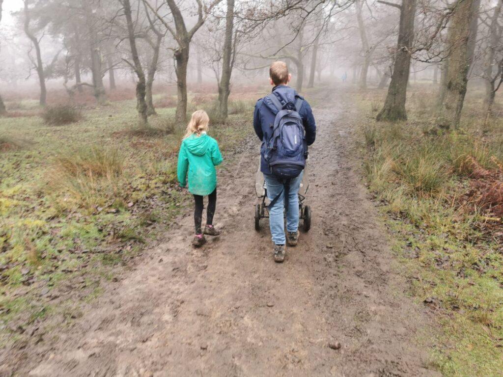Longshaw Estate walk - pram friendly