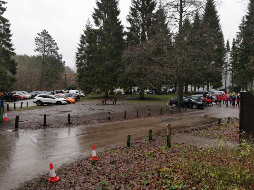 Fairholmes car park
