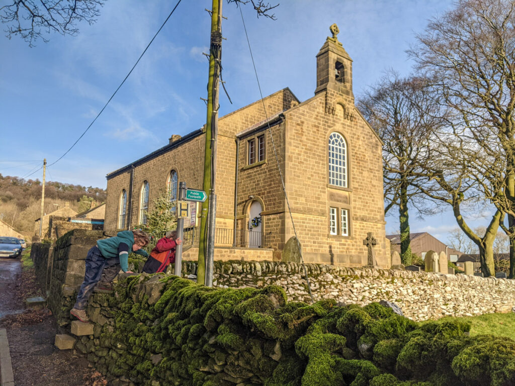 Great Hucklow chapel