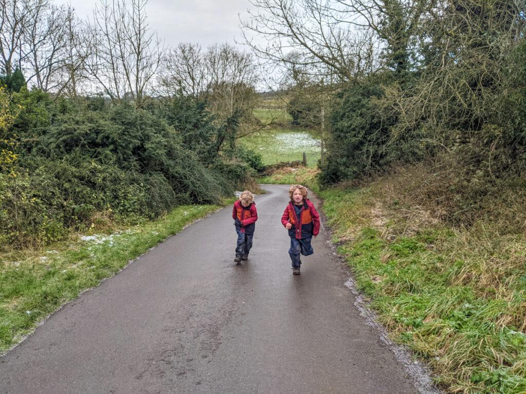Over Haddon walk