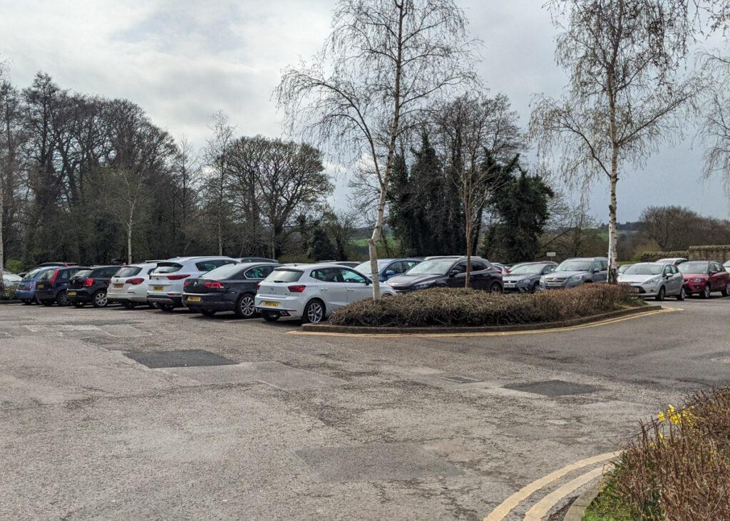 Baslow car park