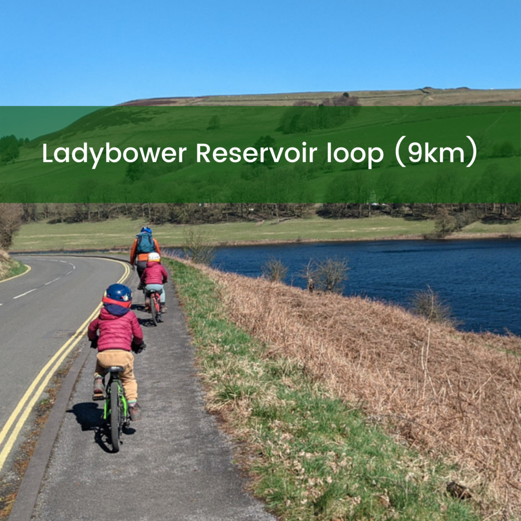 Ladybower cycle route