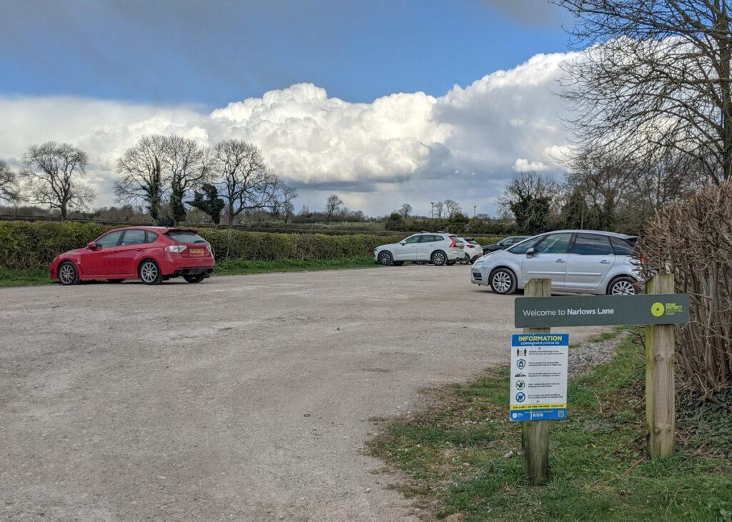 Thorpe Station car park