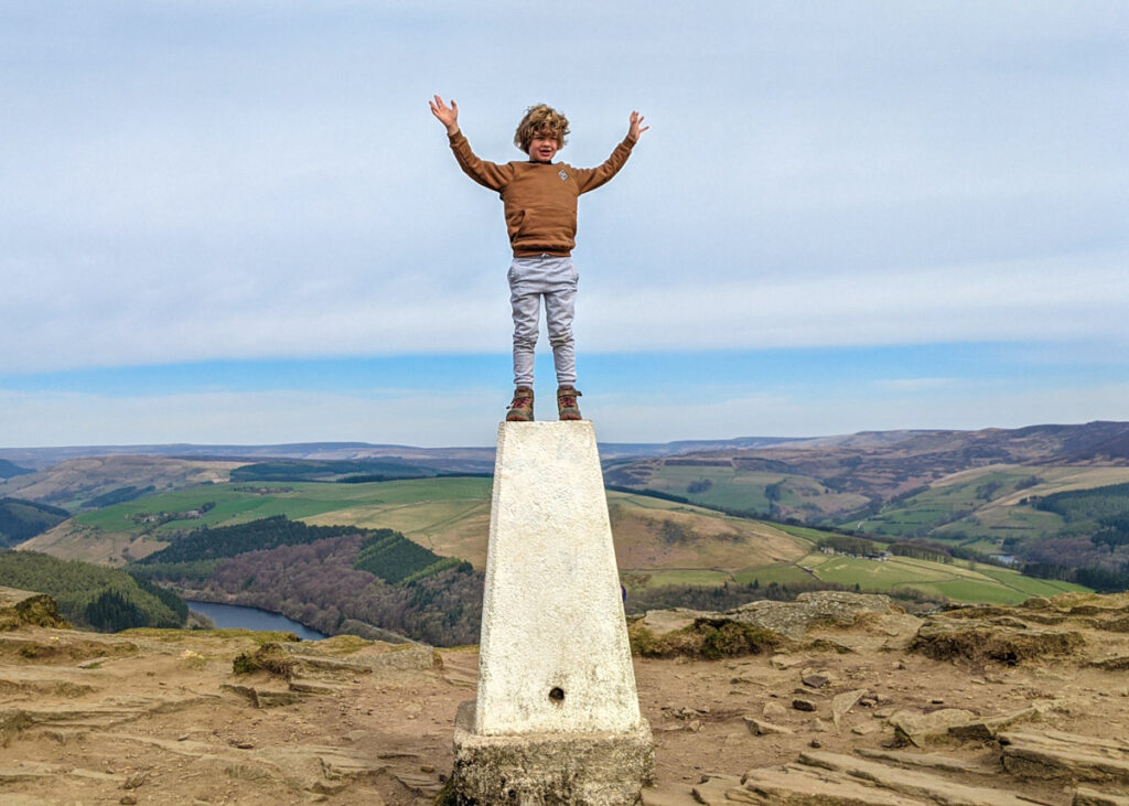 Win Hill trig point