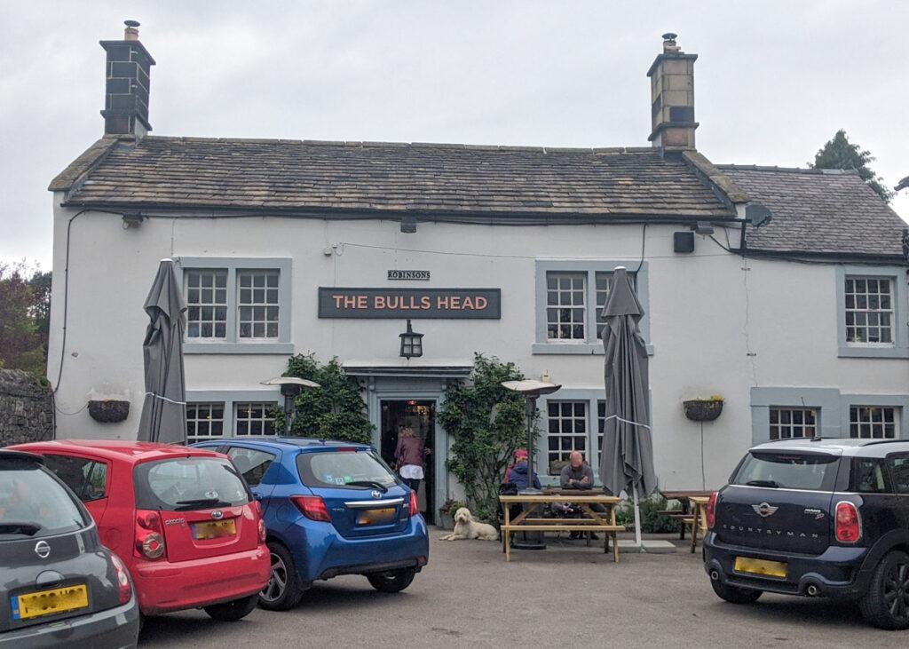The Bulls Head pub in Ashford-in-the-Water