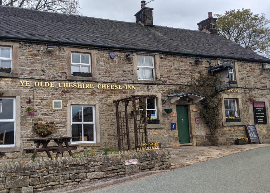 Ye Old Cheshire Cheese pub Longnor