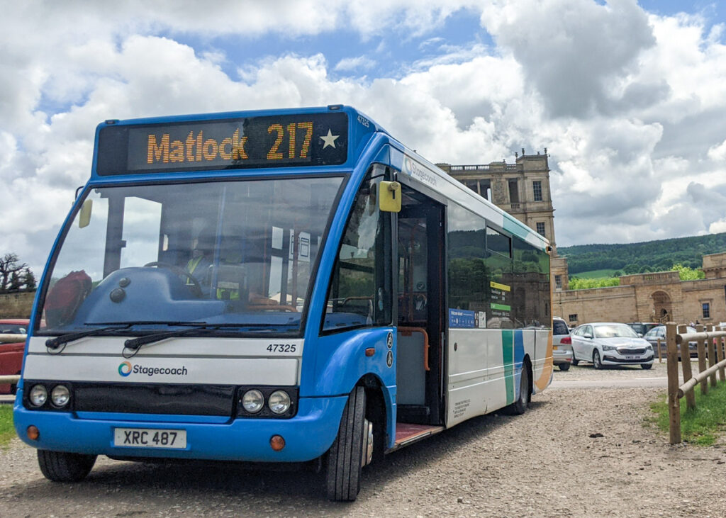 Bus to Chatsworth House