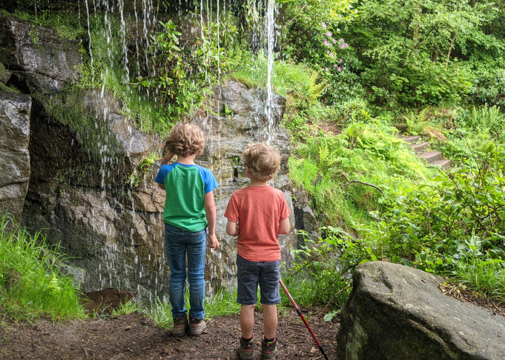 Sowter Waterfall, Chatsworth