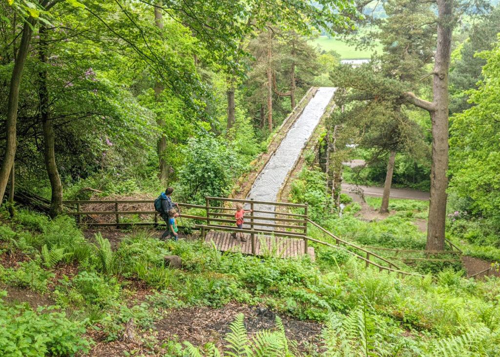 Chatsworth Hunting Tower walk
