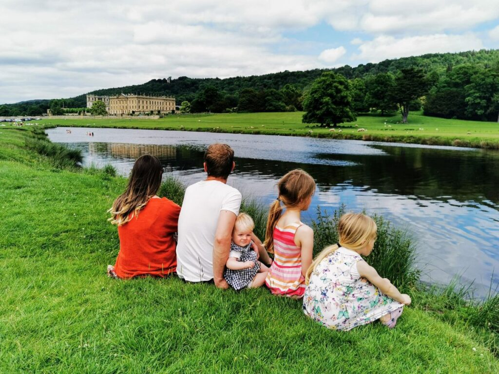 Chatsworth River Derwent picnic