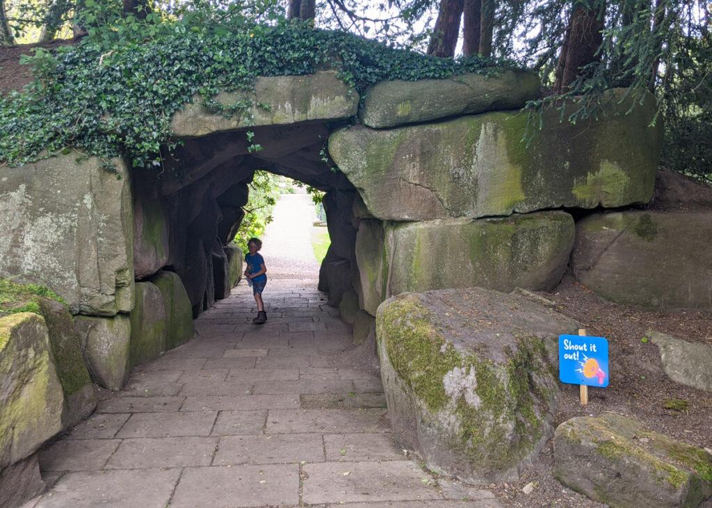 Thornbridge Gardens cave