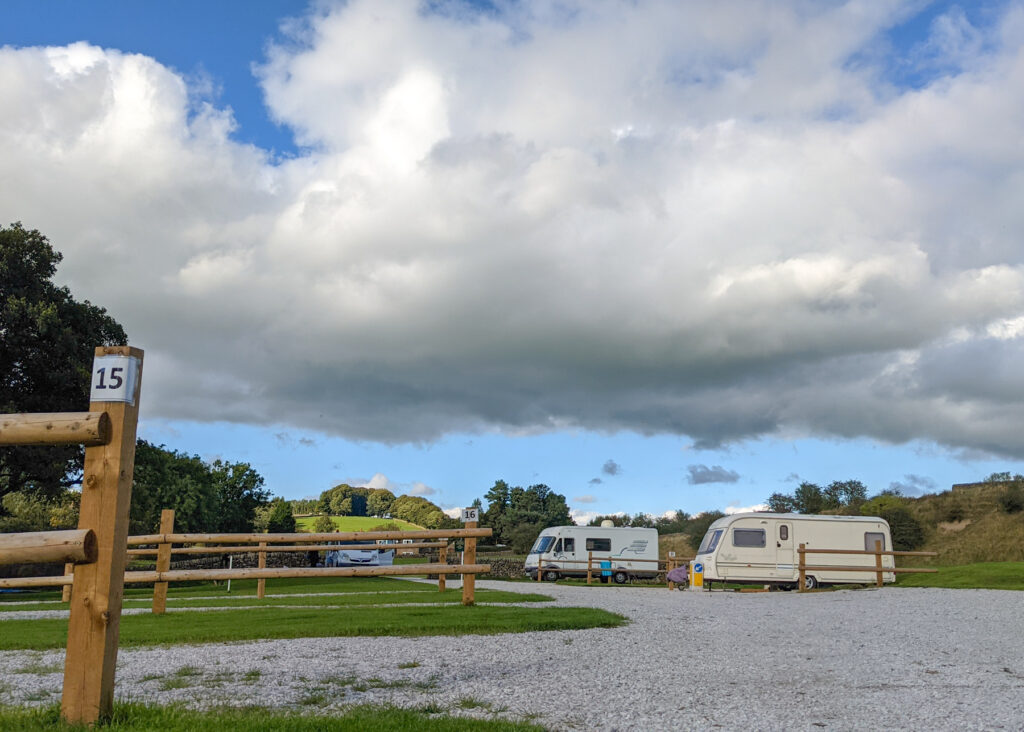 Bank House Farm Campsite main camping area