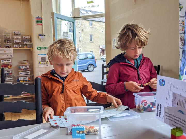 Brick Corner: Lego fun at this quirky Buxton café