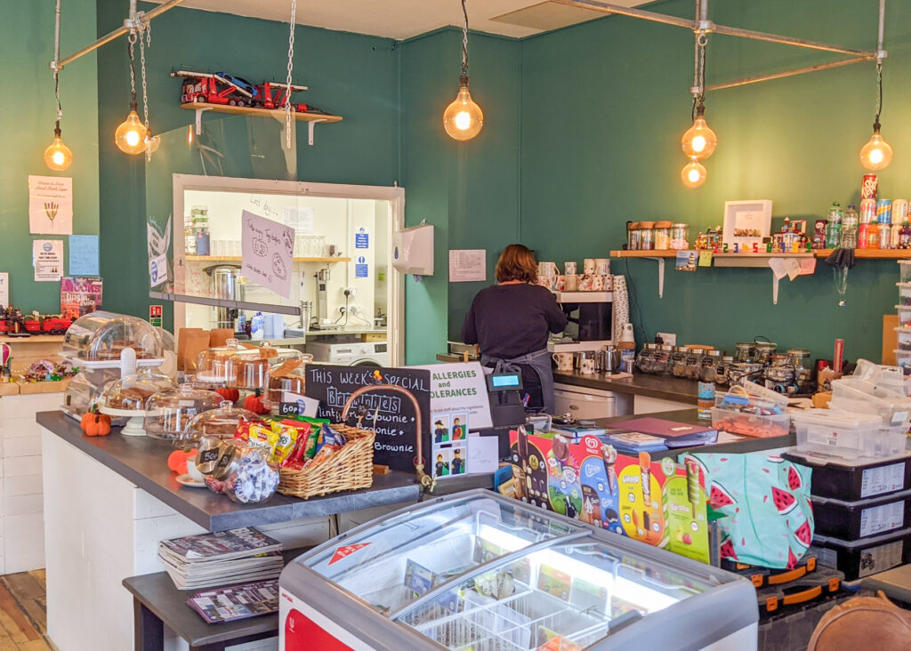 Brick Corner café