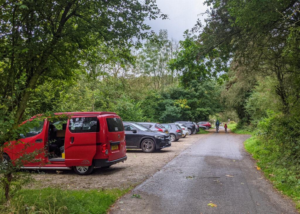 Larkstone Lane parking