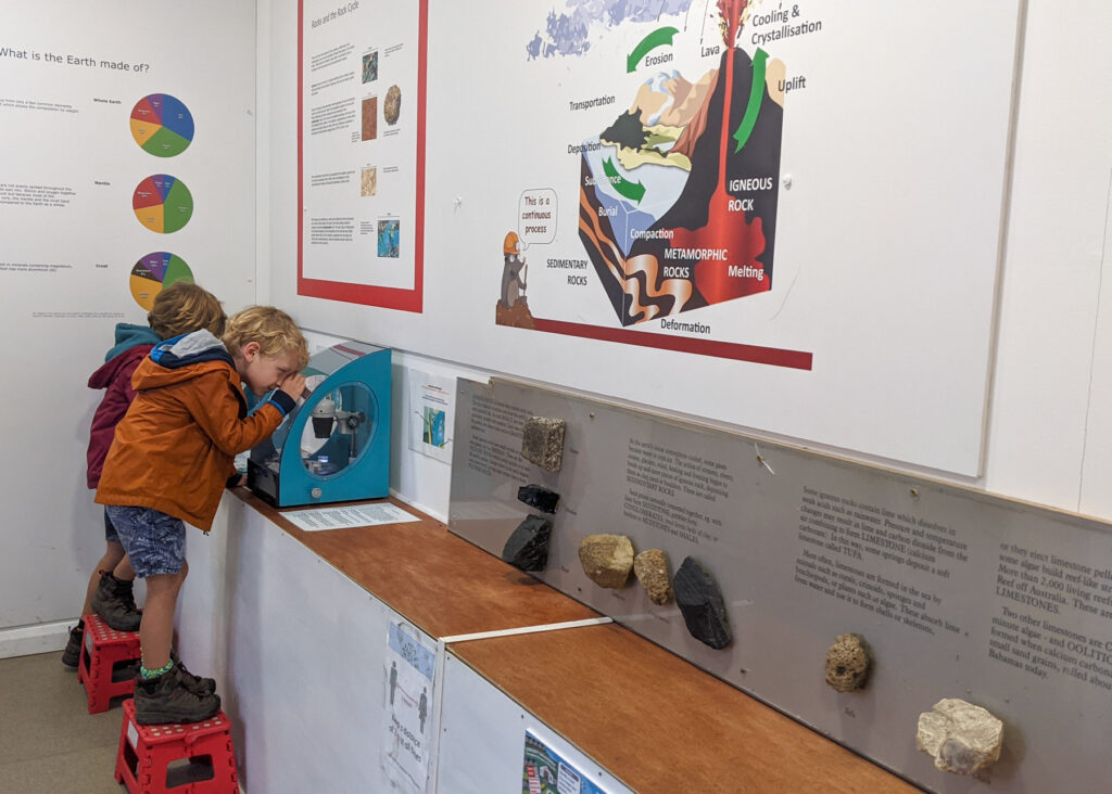exhibition at the National Stone Centre