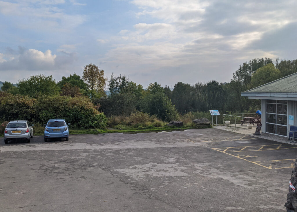 free parking at the National Stone Centre