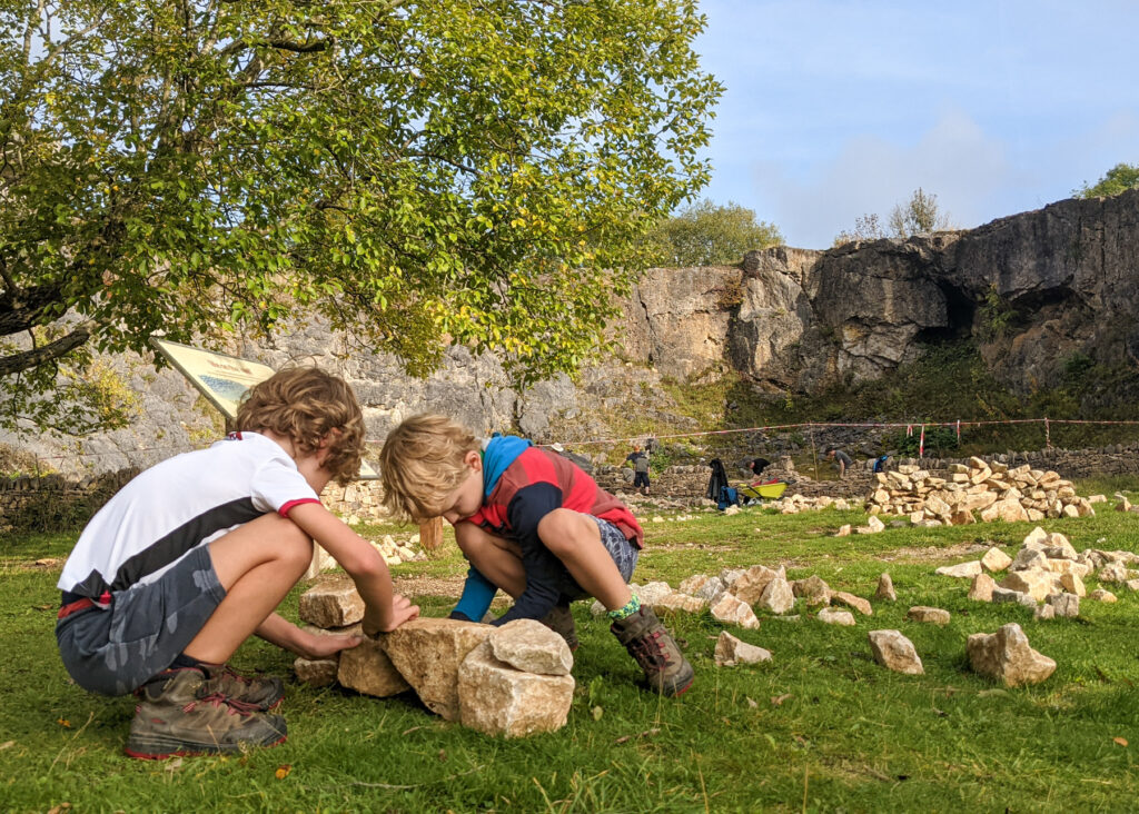 National Stone Centre drystone walling