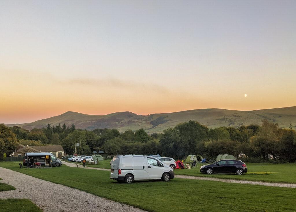New Fold Farm camping
